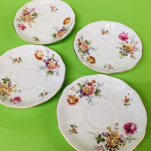 Royal Crown Derby - Posies  - Saucer x 4